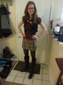 My steampunk outfit