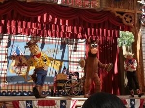 Woody and Bullseye