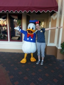 Donald and me!