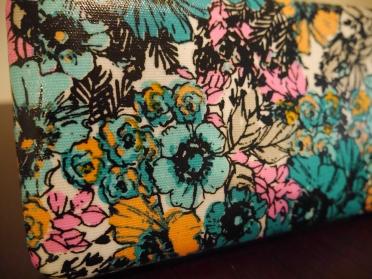 Close up of wallet design. So pretty